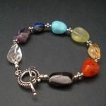 Chakra Healing Bracelet - natural stones